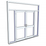 Download CAD files for Commercial Series 426 FrontGLAZE
