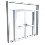Download CAD files for Commercial Series 936 FrontGLAZE