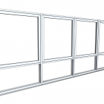 Download CAD files for Architectural Series 466 Awning/Casement Window