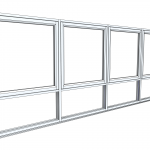 Download CAD files for Architectural Series 467 Awning/Casement Window