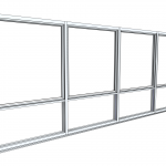 Download CAD files for Architectural Series 456 Awning Window