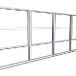 Download CAD files for Architectural Series 464 Double Hung ClearVENT Window