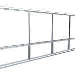 Download CAD files for Commercial Series 452 Sliding Window