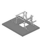Download CAD files for Safety Access Hatch Guard Rail