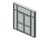 Download CAD files for Designer Series 548 High Performance Hinged & Bi-fold Door