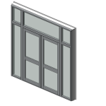 Download CAD files for Designer Series 729 ThermalHEART Thermally Broken Hinged Door