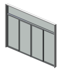 Download CAD files for Residential Series 541 Residential Sliding Door