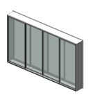 Download CAD files for Specialty Series 533 SoundOUT Secondary Glazed Sliding Door