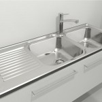 Download CAD files for Clark Punch Double End Bowl Sink – RH