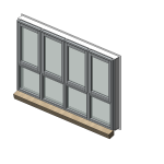 Download CAD files for Designer Series 726 ThermalHEART Thermally Broken Awning/Casment/Fixed Window
