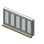 Download CAD files for Designer Series 546 High Performance Bi-fold Window