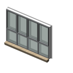 Download CAD files for Specialty Series 532 SoundOUT Secondary Glazed Casement Window