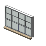 Download CAD files for Residential Series 514 Residential Double Hung Window