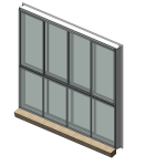 Download CAD files for Specialty Series 531 SoundOUT Secondary Glazed Sliding Window