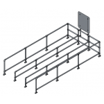 Download CAD files for Triple Trolley Bay – Moddex Tuffstop