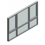 Download CAD files for Window Casement Trend Quantum Lowlite 102mm