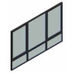 Download CAD files for Window Casement Trend ThermAL Lowlite 55mm