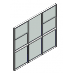 Download CAD files for Window Double Hung Trend Synergy Standard 64mm
