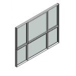Download CAD files for Window Sliding Trend Quantum 102mm