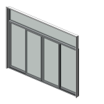 Download CAD files for Designer Series 618 MAGNUM Sliding Door