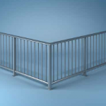 Download CAD files for Settler Railing System