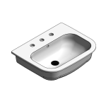 Download CAD files for Ceramic Countertop Vanity Basin – BSW-VB545