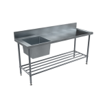 Download CAD files for BenchTech Single Sink Bench – SSB R/H Bowl