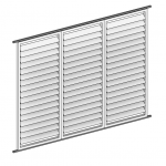 Download CAD files for Arcadia Verve® BiFold Screens