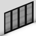 Download CAD files for Ultimate Bi-Fold Door