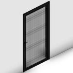 Download CAD files for Commercial Hinged Door
