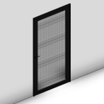 Download CAD files for Ultimate Hinged Door