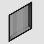 Download CAD files for Regular Concealed Fit Window
