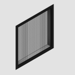 Download CAD files for Commercial Fixed Window