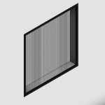 Download CAD files for Regular Flange Fit Window