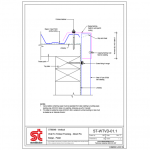 Download CAD files for ST900 Wall Cladding (Vertical Direct Fix) to Timber Framing