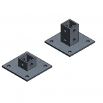 Download CAD files for Base Plate
