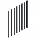 Download CAD files for Threaded Rod