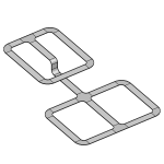 Download CAD files for Rolled Edge Cable Tray
