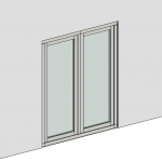 Download CAD files for Casement Door – Inward Opening