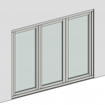 Download CAD files for Folding Door – Inward Opening