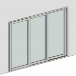 Download CAD files for Sliding Door