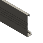 Download CAD files for Multiline Fascia – 150