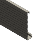 Download CAD files for Multiline Fascia – 185