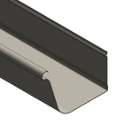 Download CAD files for Customline Gutter