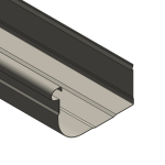 Download CAD files for Multiline Quad Gutter