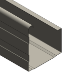 Download CAD files for Plumbline Gutter