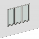Download CAD files for Casement Window – Inward Opening