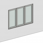 Download CAD files for Casement Window – Outward Opening