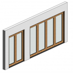 Download CAD files for Botanica Bifold Door