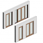 Download CAD files for Botanica Entry Frame Door – Inward Opening